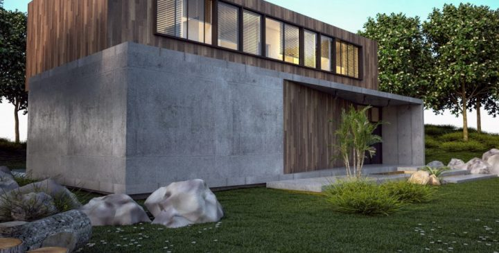 Casa-prefabricada-hormigón-120-m2-posterior