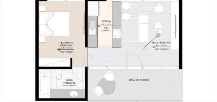 Plano-casa-prefabricada-madera-54-M2
